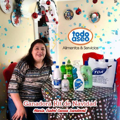 Ganadora kit de navidad
