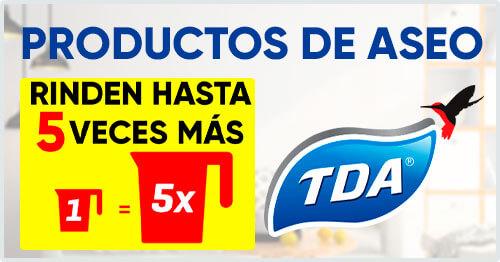 productos de aseo TDA