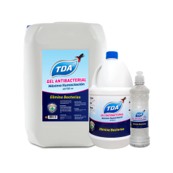 gel antibacterial TDA
